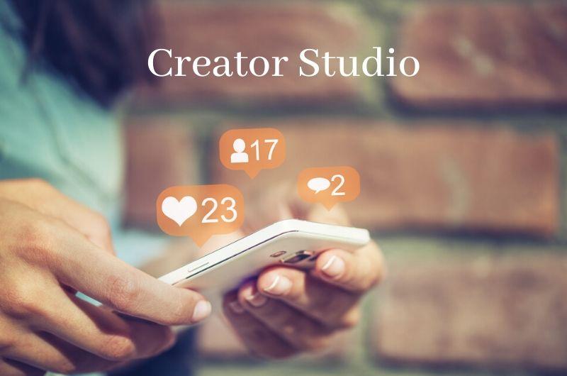 creator studio facebook app per ios e android
