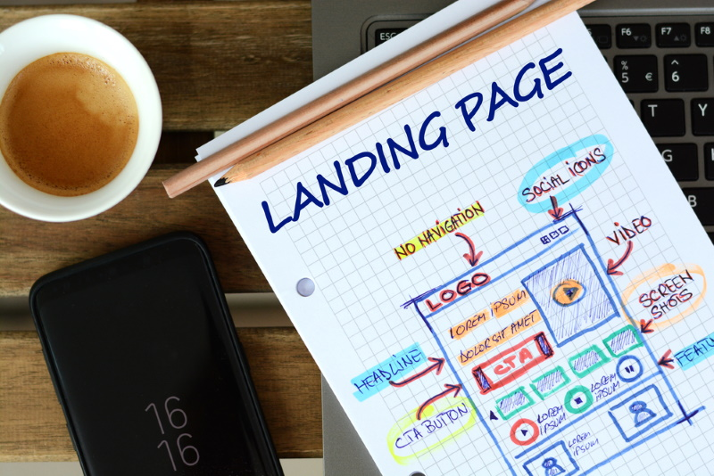 creare landing page efficace