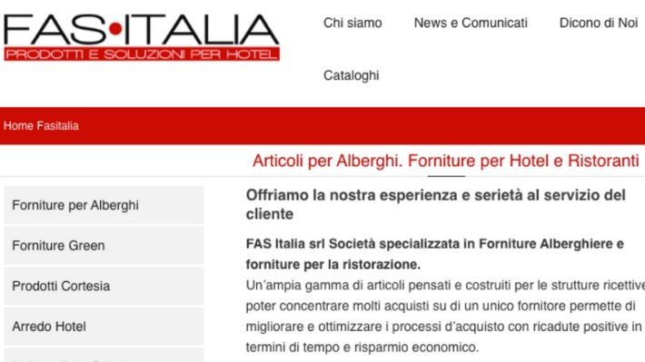 Fas Italia progetti Scribox