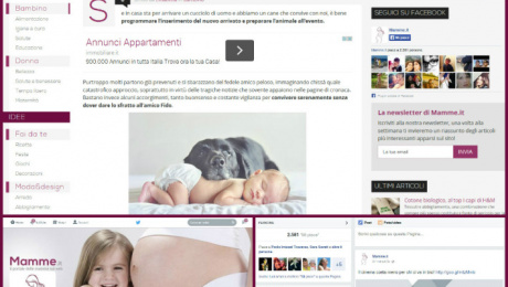 Portfolio clienti scribox Mamme.it