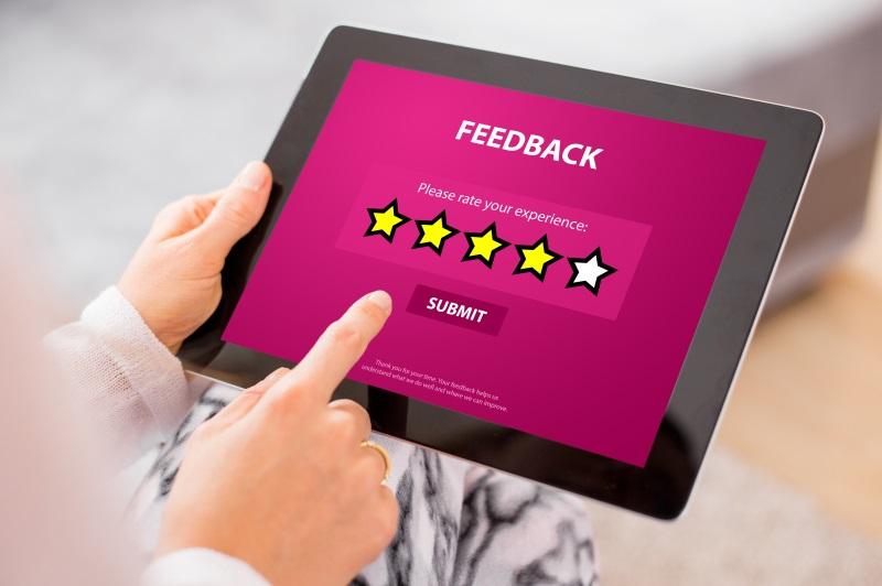 recensioni ecommerce importanza feedback